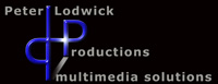 Logo Peter Lodwick Productions