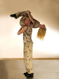 "Marit Krogeide, Christer Tornell in ""Twisted"" Photo Peter Lodwick"